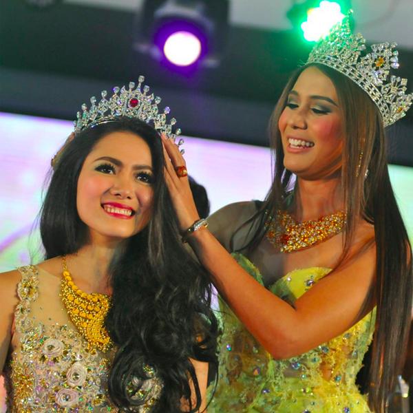May Barani Thaw is Miss Universe Myanmar 2015