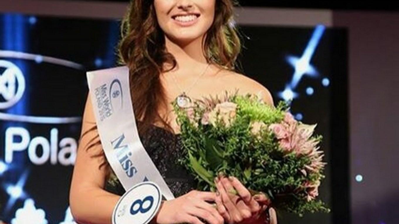 Marta Pałucka crowned Miss World Poland 2015