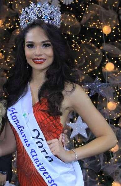 Sirey Moran is Miss Universe Honduras 2016