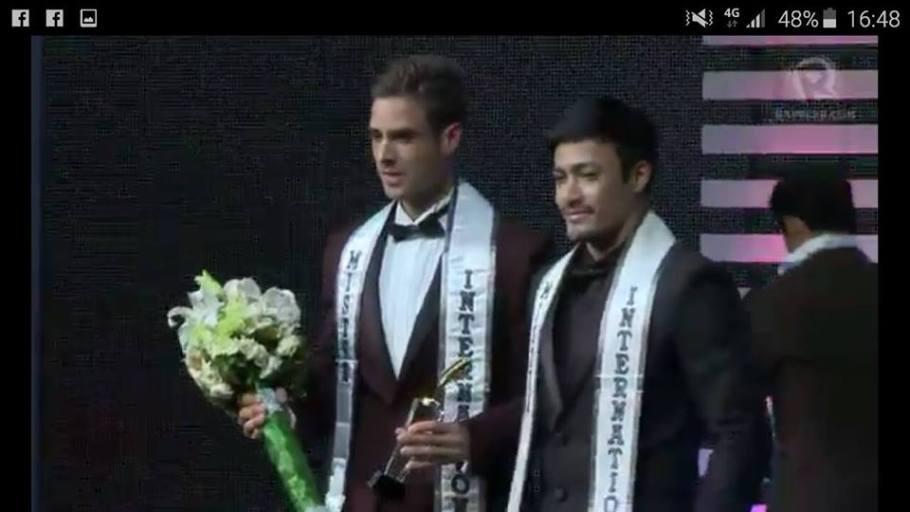 Pedro Mendes wins Mister International 2015