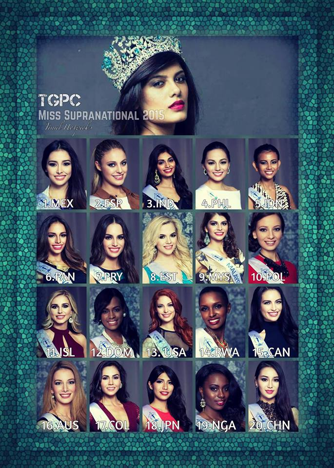 Miss Supranational 2015 Hotpicks