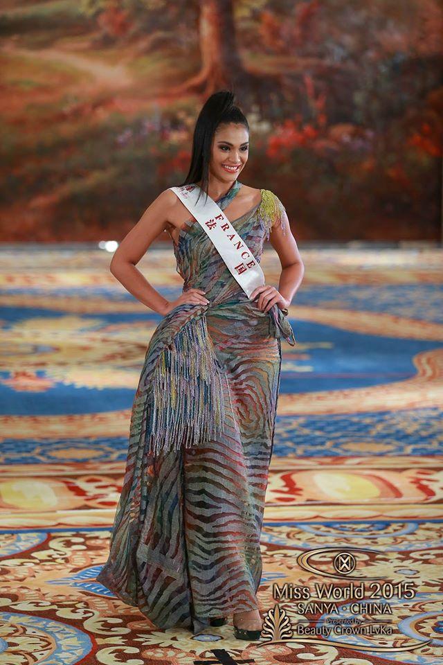 Miss World Top Model Award : Top 30.