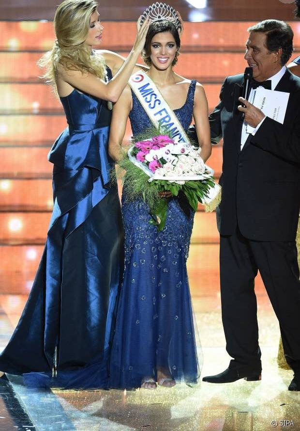 Iris Mittenaere wins Miss France 2016 crown