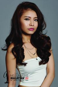 Ariessa Lam is Miss Universe Malaysia 2016 contestant