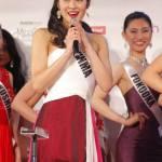 Rie Fukui is representing Gunma at Miss Universe Japan 2016