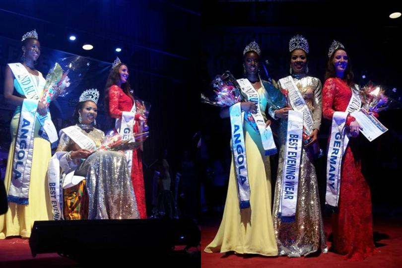 Collete Nwadike from Nigeria is Exquisite Face of the Universe 2015