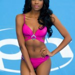 Miss South Africa-Refilwe Mthimunye during Miss Universe 2015 swimsuit portrait