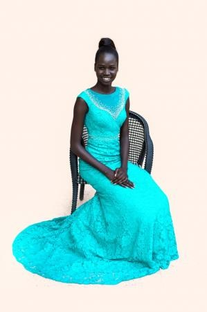 Ajaa Kiir Monchol Miss World South Sudan 2015