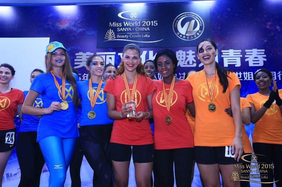 Miss World 2015 Sports Winner Declared