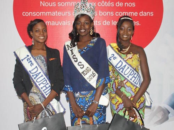 Sylvaine Leloum crowned as Miss Chad 2016