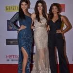 Aafreen Vaz, Aditi Arya & Sushrii Shreya Mishraa at Grazia Cover Girl Hunt 2016 red carpet