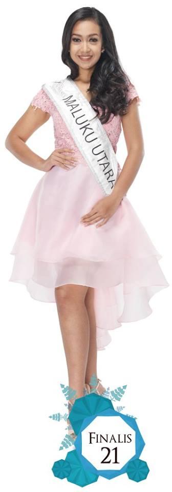 Shinta Noppita Sari is representing  MALUKU UTARA at Miss Indonesia 2016