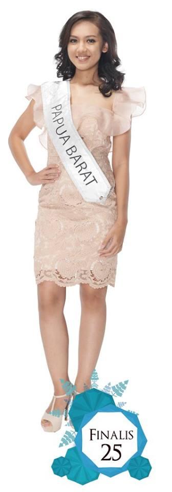 Deninda Fairuzahra    is representingPAPUA BARAT  at Miss Indonesia 2016