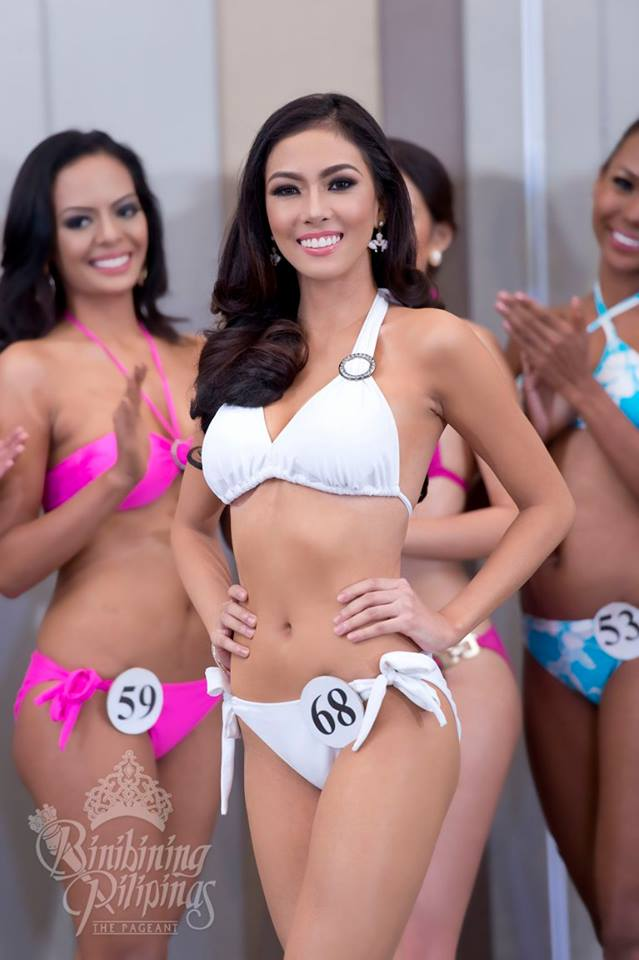 Alexandra Faith Garcia is a contestant of Binibining Pilipinas 2016