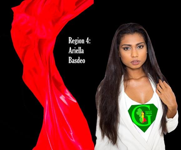 Ariella Basdeo is a contestant of Miss World Guyana 2016