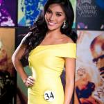 Binibini 34-SARAH CHRISTINE BONA during Binibining Pilipinas 2016 Official Shots