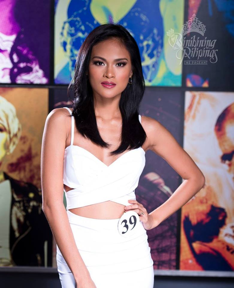 Binibini 39- SISSEL RIA RABAJANTE during Binibining Pilipinas 2016 Official Shots