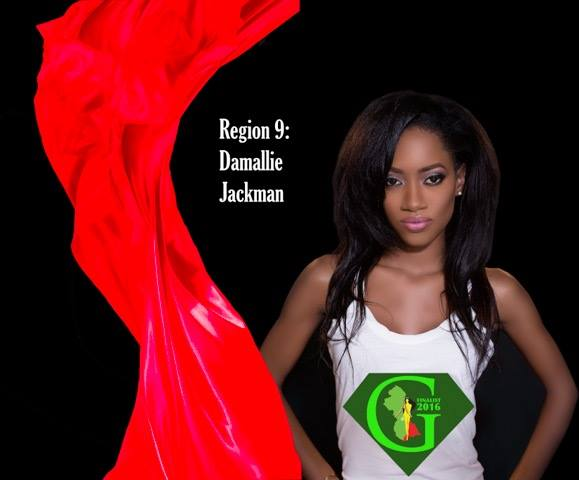Damallie Jackman  is a contestant of Miss World Guyana 2016