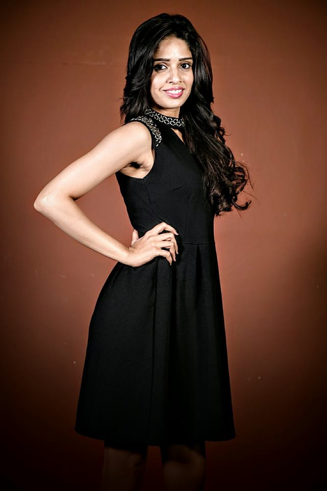 Geetanjli is a contestant at Femina Miss India Delhi 2016