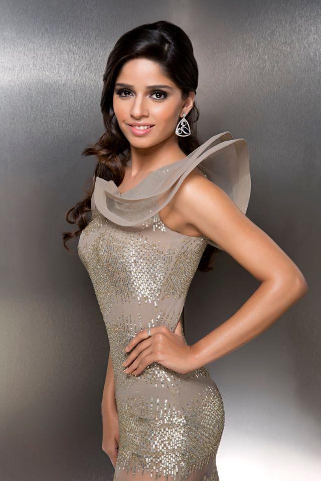 Geetannjli during Femina Miss India Delhi 2016 Glam Shots