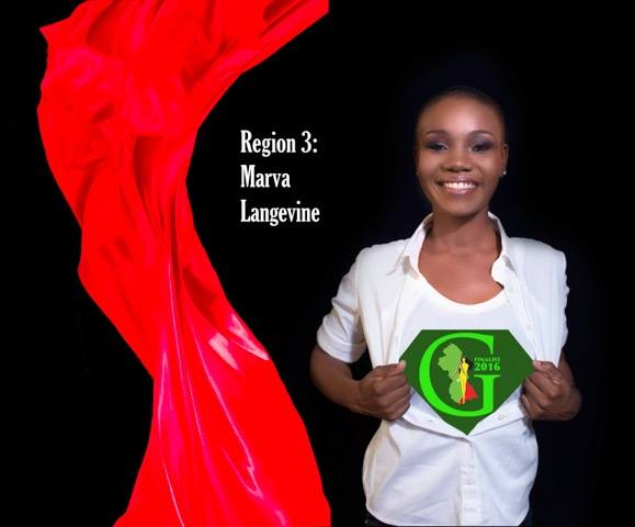 Marva Langevine is a contestant of Miss World Guyana 2016