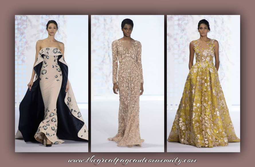 Ralph & Russo Gowns for Priyanka Chopra