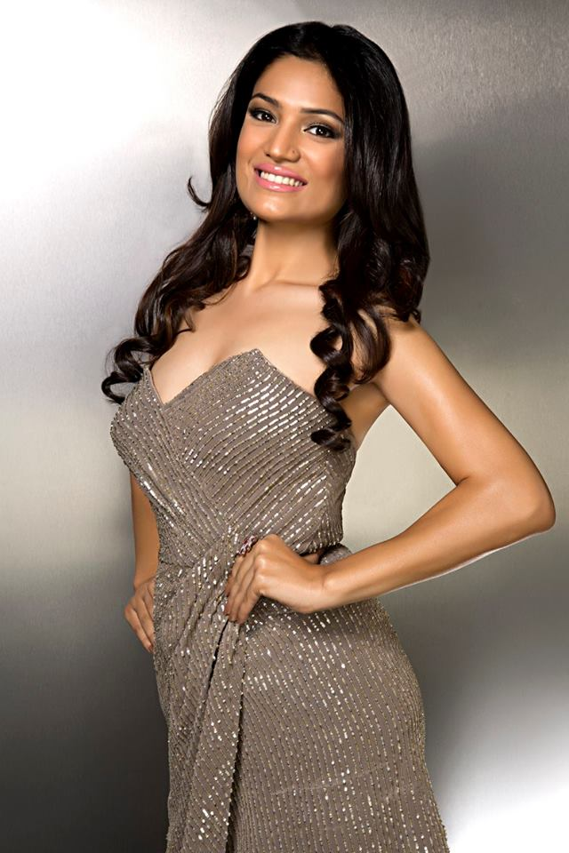 Rinki Ghildiyal during Femina Miss India Delhi 2016 Glam Shots