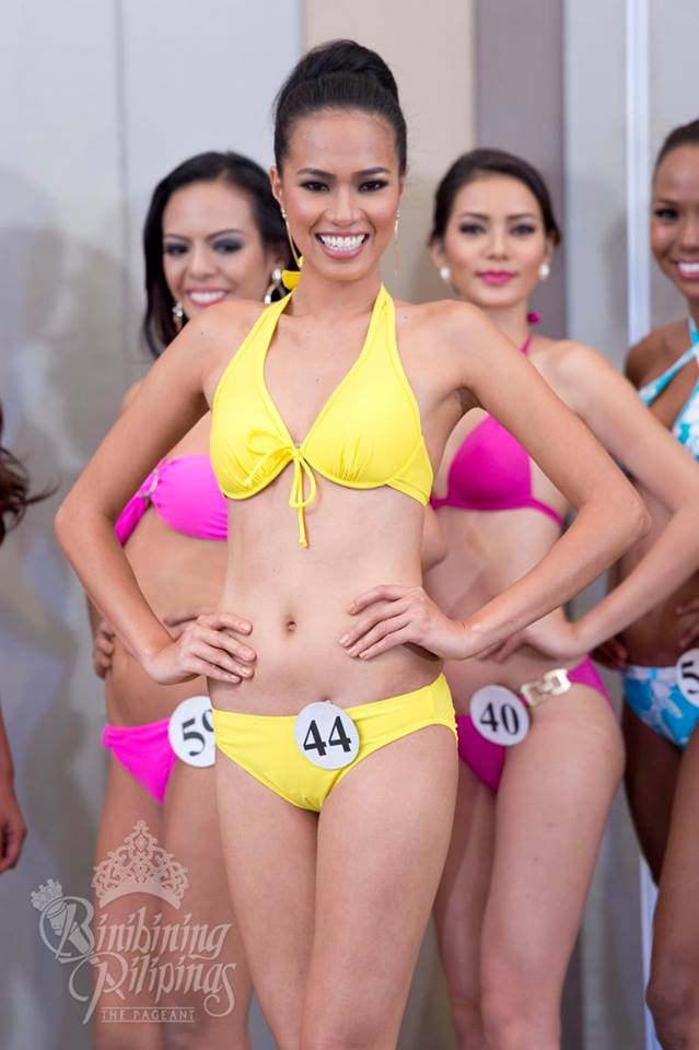 Sheena Dalo is a contestant of Binibining Pilipinas 2016