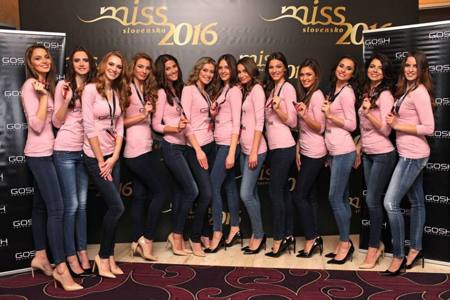 Meet Miss Slovensko 2016 Contestants