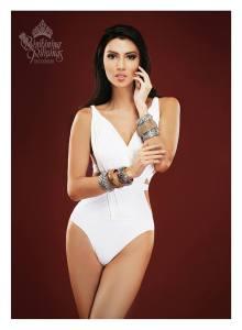Binibini #11 NICOLE CORDOVES during Binibining Pilipinas 2016 Swimsuit portraits