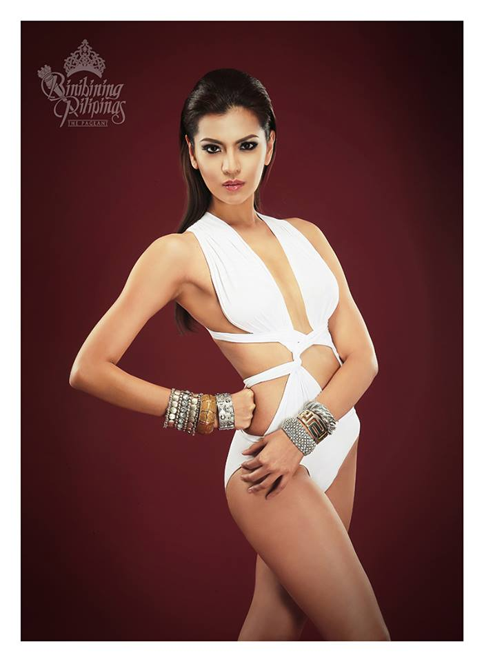 Binibini #12 EDJELYN JOY CAY GAMBOA during Binibining Pilipinas 2016 Swimsuit portraits