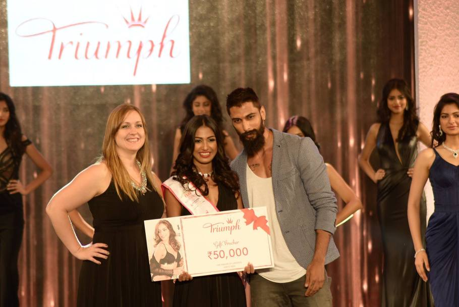 Rajkanya Baruah won Triumph Miss Perfect Body - at Femina Miss India 2016 Sub Contest