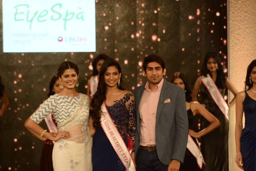 Roshmitha Harimurthy won EyeSpa Miss Beautiful Eyes at Femina Miss India 2016 Sub Contest