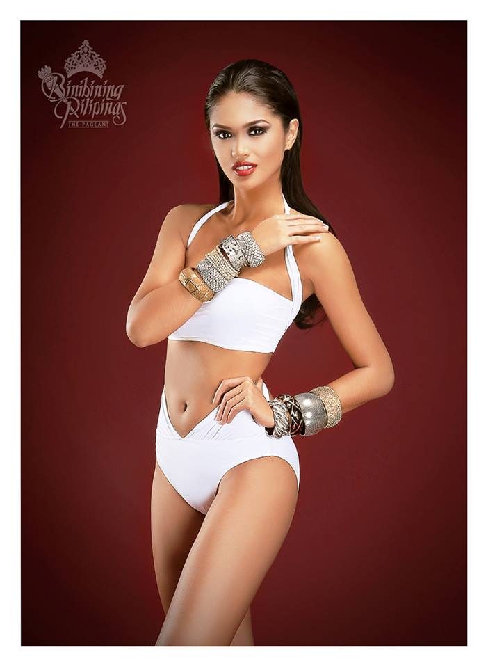 Binibini #15 KRISTINE ANGELI Q. ESTOQUE during Binibining Pilipinas 2016 Swimsuit portraits