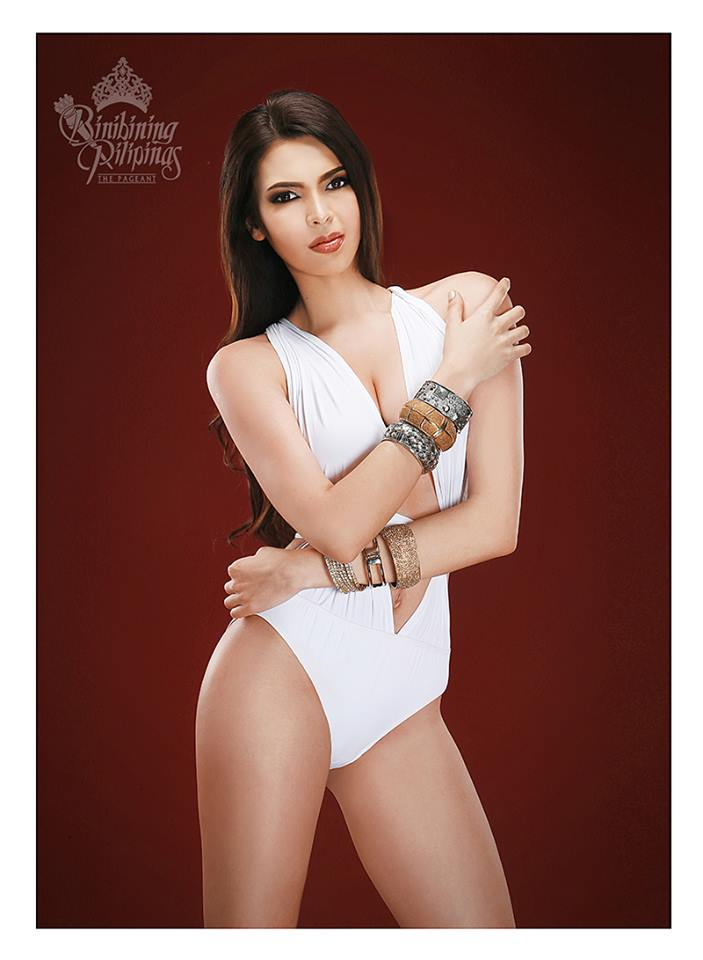 Binibini #17 PRISCILLA KIMBERLEY DELA CRUZ during Binibining Pilipinas 2016 Swimsuit portraits