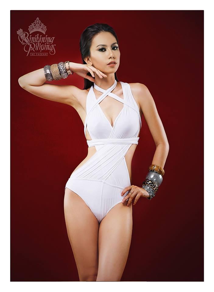 Binibini #20 GEISHA NAGANUMA during Binibining Pilipinas 2016 Swimsuit portraits