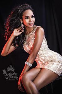 Binibini #22-APRIEL SMITHduring Binibining Pilipinas 2016 Glam Shots