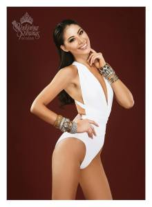 Binibini #27 DINDI JOY L. PAJARES during Binibining Pilipinas 2016 Swimsuit portraits