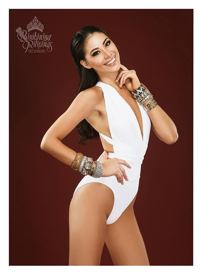 Binibini #27 DINDI JOY L. PAJARES during Binibining Pilipinas 2016 Swimsuit portraits
