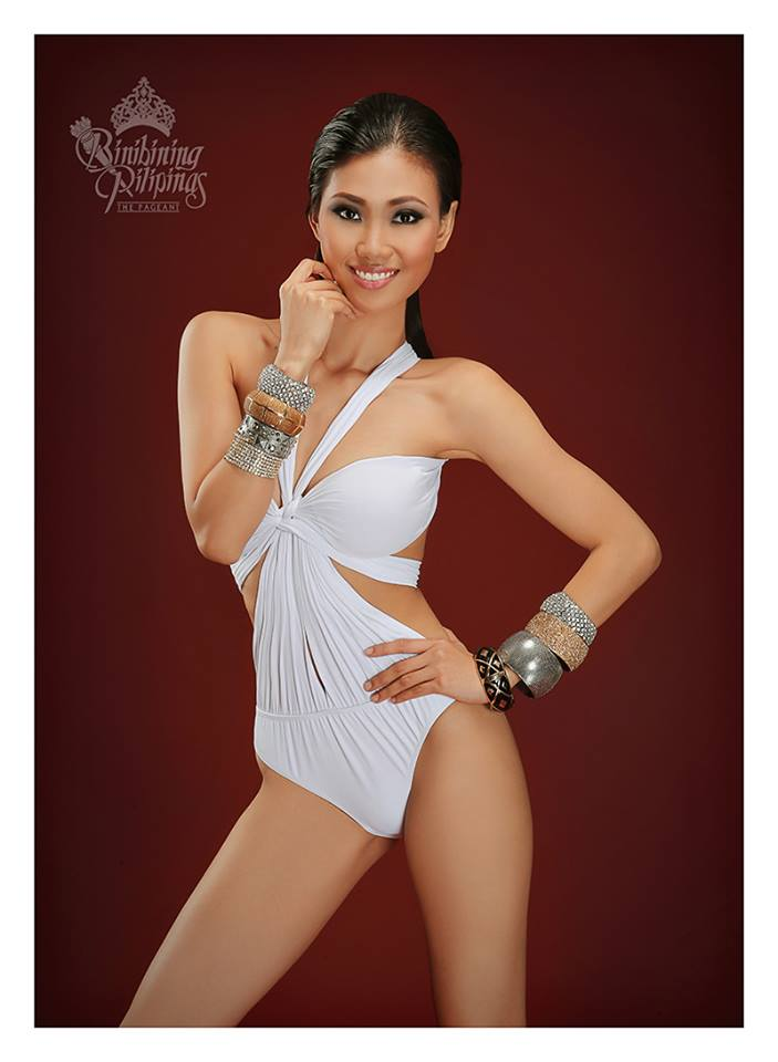 Binibini #30 CRESCENT ANNE SAMACO during Binibining Pilipinas 2016 Swimsuit portraits
