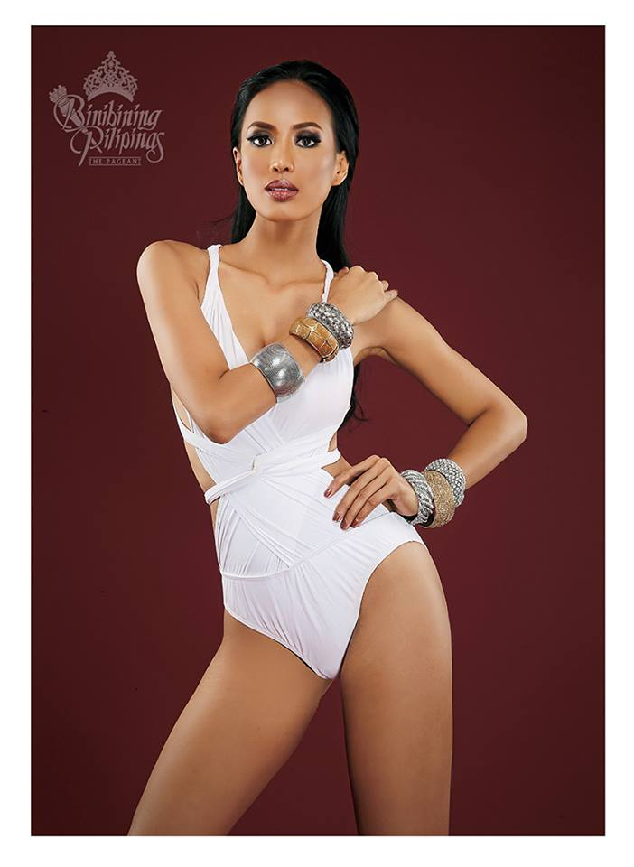 Binibini #32 JENNYLINE CARLA F. MALPAYA during Binibining Pilipinas 2016 Swimsuit portraits