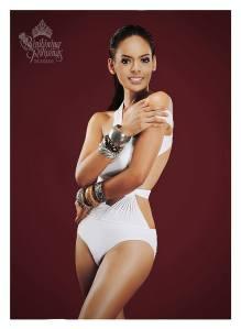 Binibini #35 MARIELLA CASTILLO during Binibining Pilipinas 2016 Swimsuit portraits