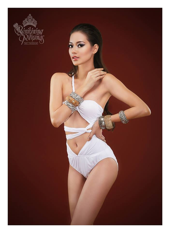 Binibini #37 JEHZA MAE S. HUELAR during Binibining Pilipinas 2016 Swimsuit portraits