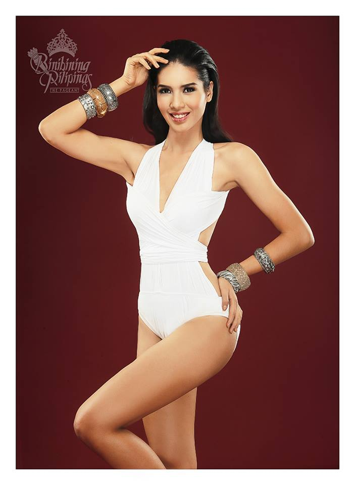 Binibini# 5- RIANA AGATHA L. PANGINDIAN during Binibining Pilipinas 2016 Swimsuit portraits