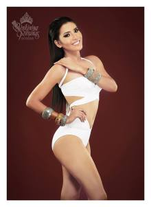 Binibini #6 CANDY N. DEL CASTILLO during Binibining Pilipinas 2016 Swimsuit portraits
