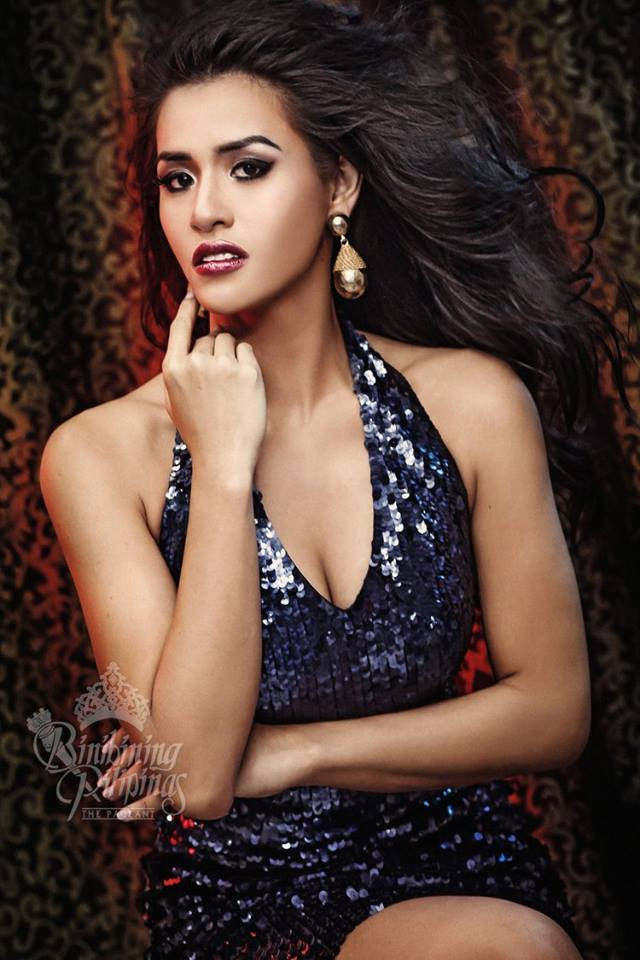Binibini #7-ANGELIQUE CELINE L. DE LEON during Binibining Pilipinas 2016 Glam Shots