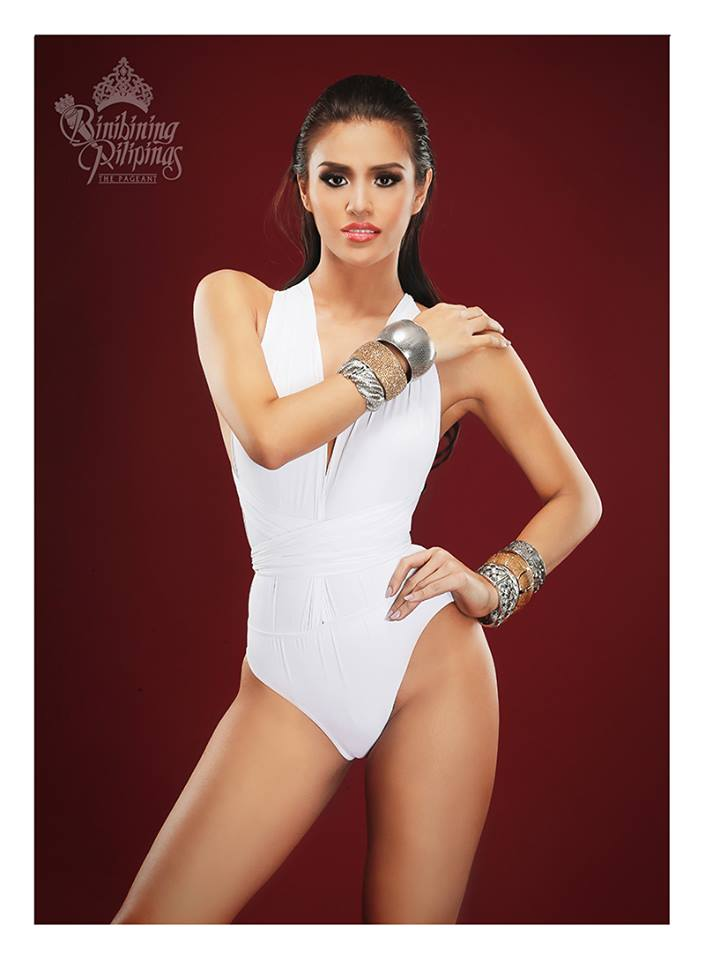 Binibini #7 ANGELIQUE CELINE L. DE LEON during Binibining Pilipinas 2016 Swimsuit portraits