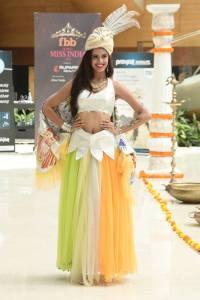 Adya Niraj in National Costume