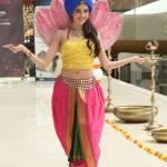 Dnyanda Shringarpure in National Costume