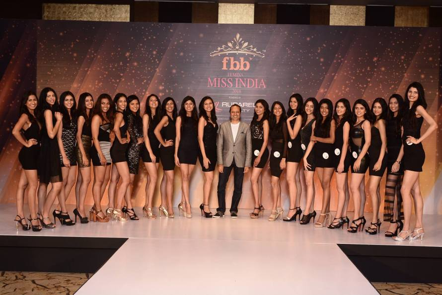 Femina Miss India 2016 Official Shots